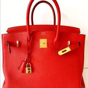 2a561e69b0c2 Hermes Bags - Hermes Birkin 35cm Rouge Pivoine